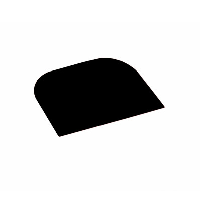 KEUKEN SCHRAPER ZWART 14.8x9.9cm SPATEL DEEGSCHRAPER DEEGSNIJDER