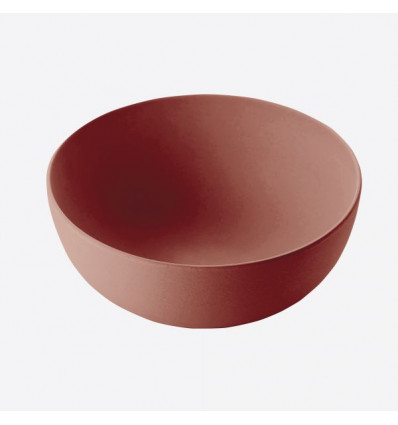 KOM BAMBOEVEZEL D24xH10cm TERRACOTTA POINT VIRGULE